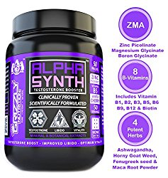 Grizzly Nutrition Alpha Synth Testosterone Booster