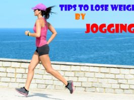 how to weight loss jogging