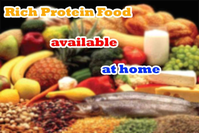 best protein food at home for bodybuilding