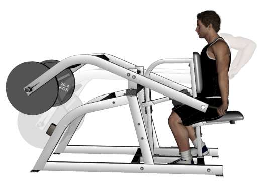 seated triceps dips machine