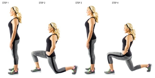 lunges.