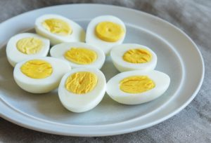 Boiled eggs gain weight