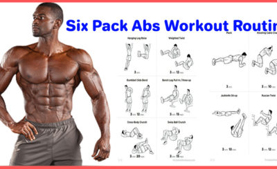 6 pack abs workout for men