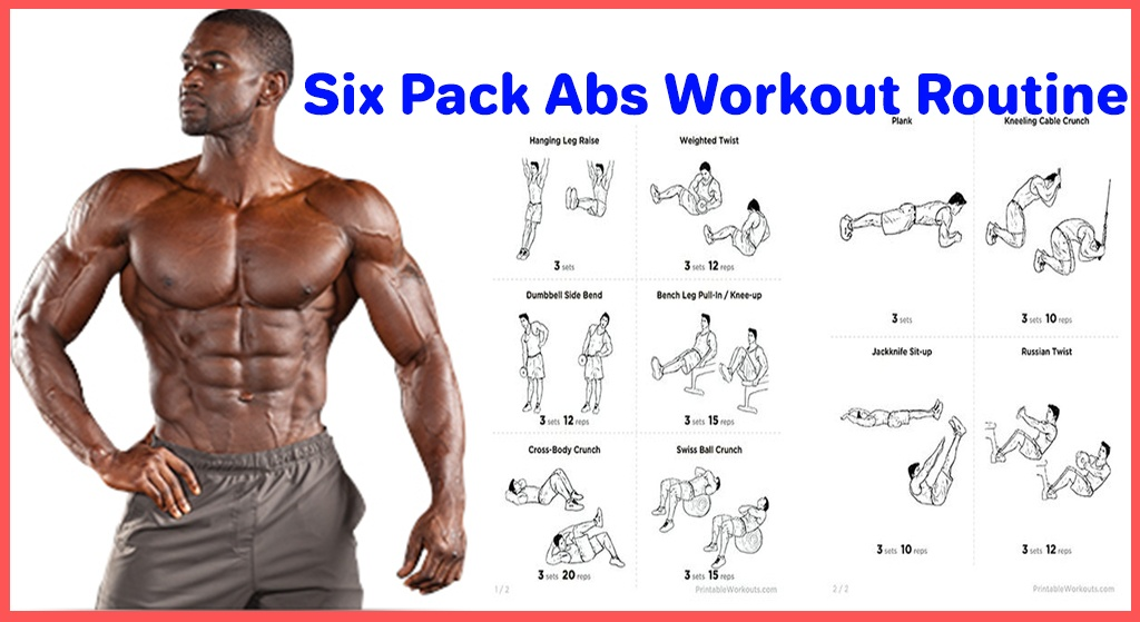 6 Workouts For A Killer 6-Pack