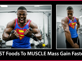 BEST Foods To MUSCLE Mass Gain FAST