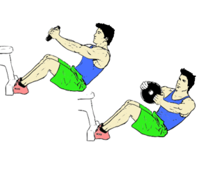Russian_Twist 6 packs abs exercises