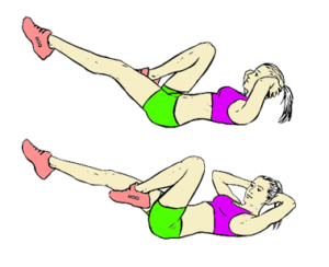 bicycle_crunches 6 packs abs workouts exercises