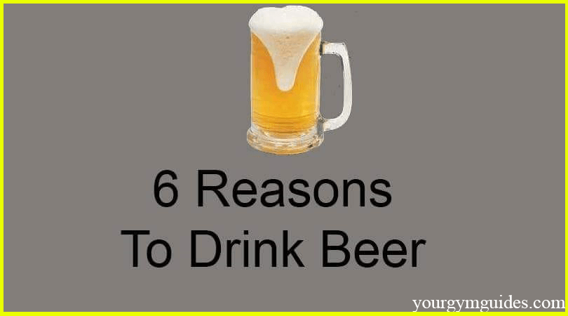1 Reason ( Benefits ) to drink beer cover