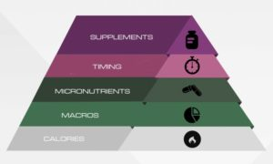 food-pyramid supplements in take