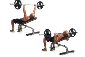 Incline Barbell Bench Press chest workouts