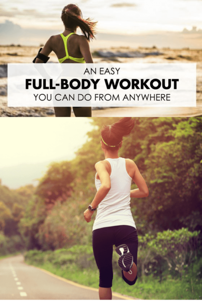Full Body Workout at home for men and women