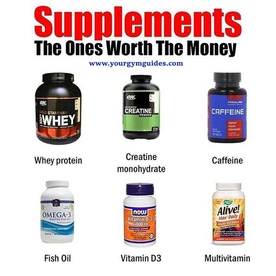 Best supplements for muscle growth and weight loss