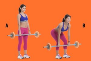 deadlift for back and glute