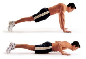 full body workout at home pushups
