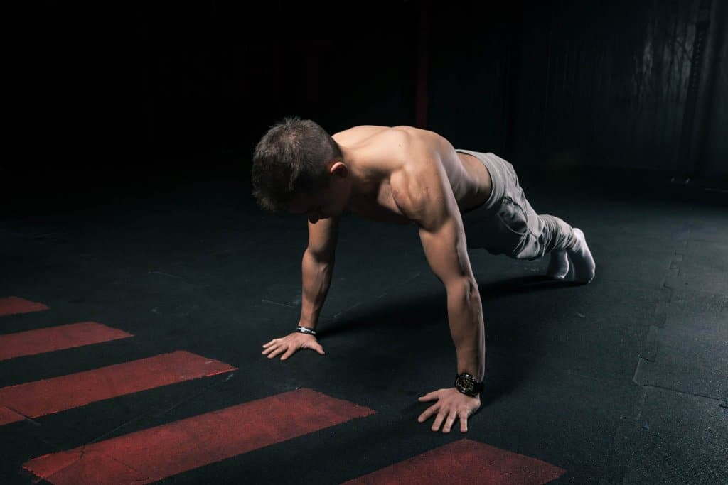 upper chest workout pushups