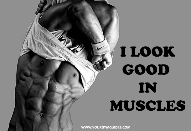 fitness quotes Motivation it look good in muscles