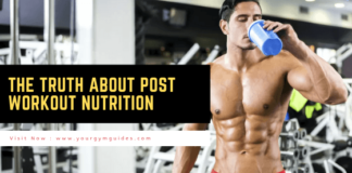The Truth about post workout nutrition supplements