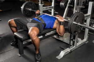 close grip barbell bench press inner chest workout