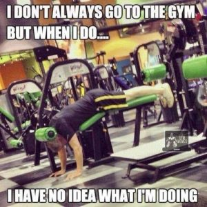 not using equipment properly common gym mistake