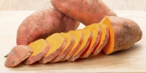 SLICED-SWEET-POTATO-carbs for muscle gain