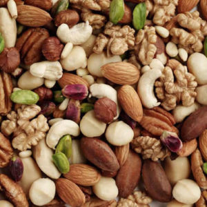 mix-dry-fruits carbs for muscle gains