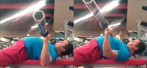 Lifting the Head Up while bench press