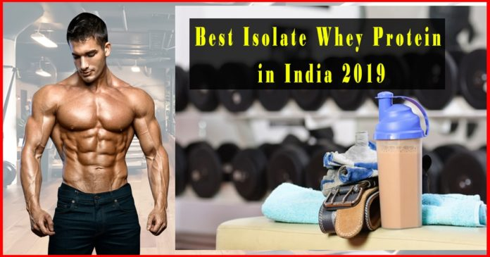 Best WheyProtein isolate to build muscle in india 2019