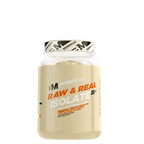 Bigmuscles Nutrition Raw & Real Isolate Whey Protein 2lbs