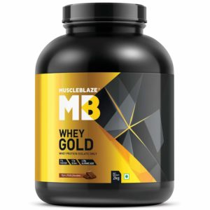 MuscleBlaze isolate Whey Gold
