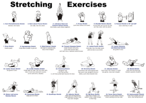 Full-body-stretching exercises