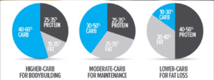bodybuilding diet carbs,protein and fat chart