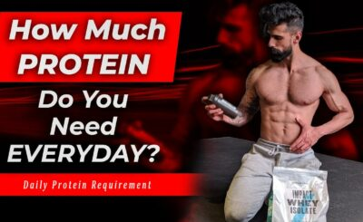 how much is the daily protein requirement per day to build muscles for bodybuilding