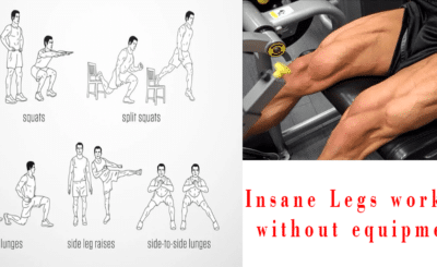 legs workout without equipment
