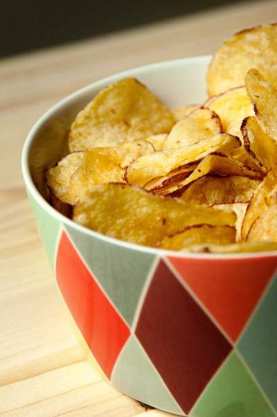 potato chips unhealthy processed food