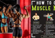 How to gain muscles faster