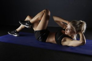 abdominal muscles training